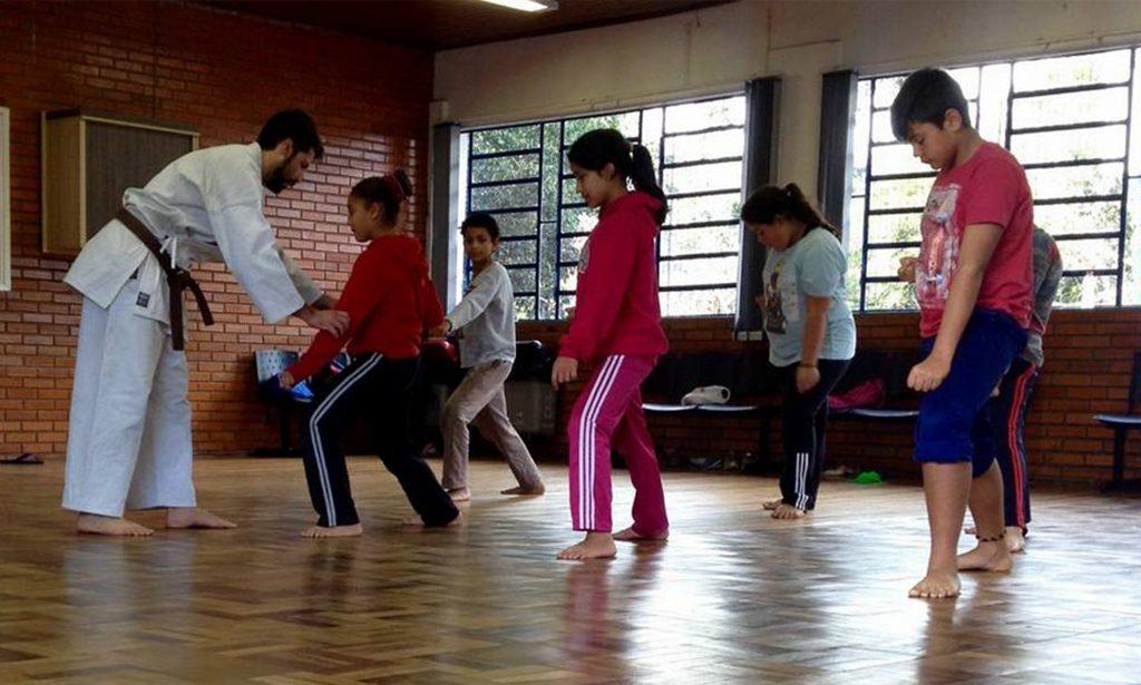 karate 0000 filhos 1 Shinjigenkan Brasil