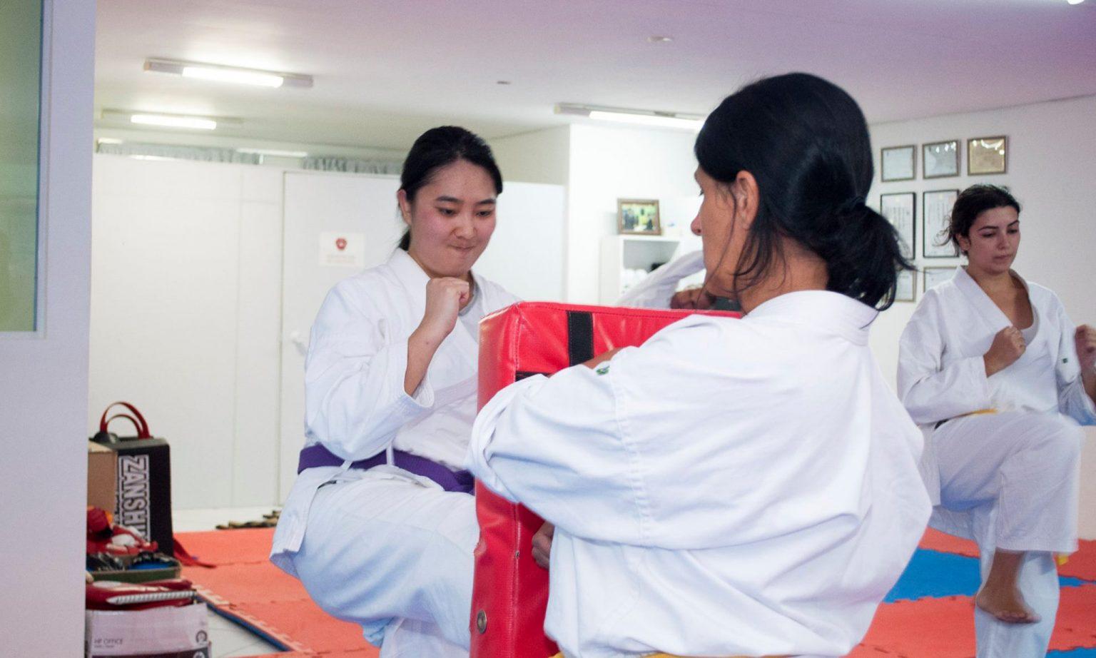 karate 0003 mulheres Shinjigenkan Brasil