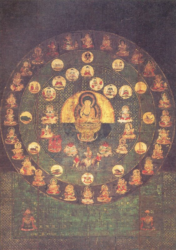 star mandala circular horyuji temple Master Shinjigenkan Brasil