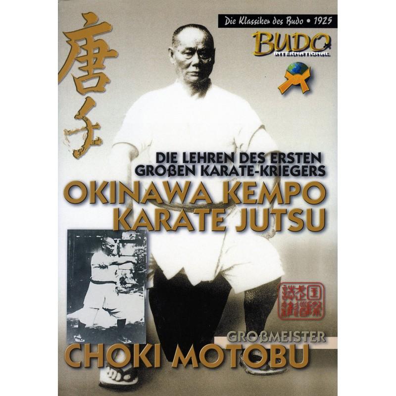 libro okinawa kempo karate jutsu choki motobu espanol 1 Shinjigenkan Brasil