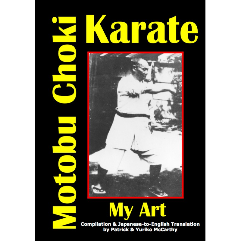livro my art motobu choki mccarthy ingles Shinjigenkan Brasil